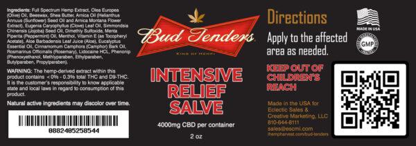 intensive relief salve 4000 mg cbd
