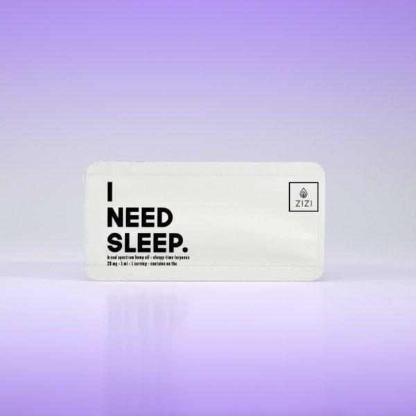 Zizi Snap single serve cbd oil for sleep